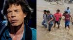 Mick Jagger pide apoyo para damnificados por huaicos en Perú - Noticias de the mick