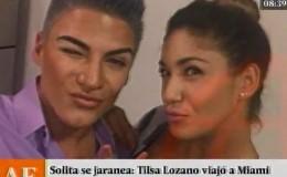 Tilsa Lozano viajó a Miami y generó fuertes rumores de separación
