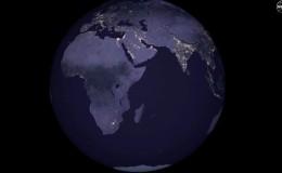 [VIDEO] Publican imágenes nunca antes vistas de la Tierra de noche