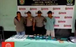 Policía detiene a miembros de una banda de extorsionadores en Puente Piedra