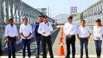 La Libertad: PPK puso en funcionamiento puente modular en Virú - Noticias de puente san pedro