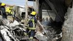 Portugal: avioneta se estrelló junto a un supermercado y dejó 5 muertos - Noticias de agencia afp