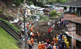 Colombia: al menos 17 muertos por fuertes lluvias en Manizales