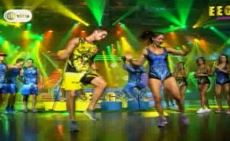 EEG: Melissa Loza y Gino Pesaressi se midieron así en reñido duelo de baile