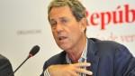 MEF: Perú tiene recursos que ascienden a 8.6% de PBI para reconstrucción - Noticias de alfredo thorne