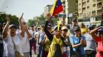 Venezuela en llamas: imágenes de protestas, violencia y represión - Noticias de corina machado