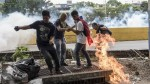 Venezuela: fuertes disturbios en marcha de miles de opositores - Noticias de santos maduro