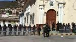 Tarma: realizan segundo día de protestas exigiendo salida del alcalde - Noticias de luis calle
