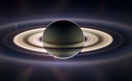 SCassini mira la Tierra desde saturno