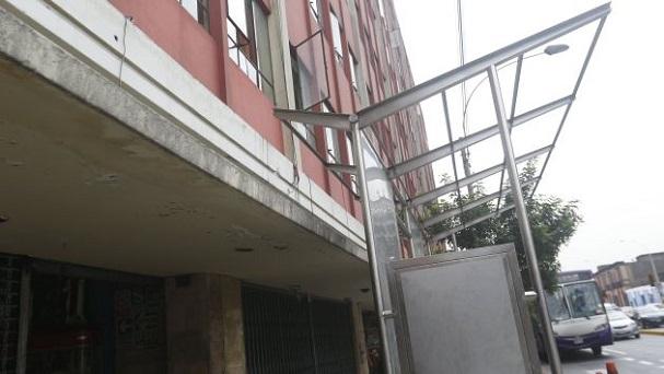 Estructuras estarían abandonadas. Foto: Mario Zapata / Perú 21