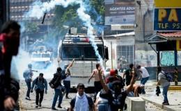 Venezuela: tres muertos en jornada de protestas de este lunes
