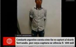Crimen de Wilbur Castillo: Policía argentina cuenta cómo capturó a Servando