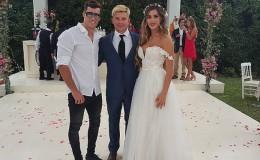 ¿Quién le quiso coquetear a Patricio Parodi en la boda de Mario y Korina?