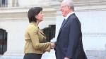 PPK se reunió con presidenta de Suiza en Palacio de Gobierno - Noticias de elsa galarza