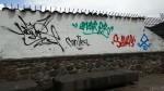 Cusco: realizan pintas de colores en pared de plaza Bicentenario - Noticias de capturan