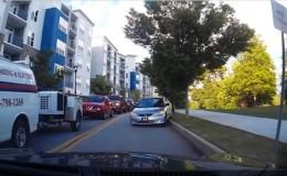 SYoutube: invadió carril contrario para evitar tráfico, pero pasó vergüenza