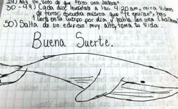 'Ballena azul': gobierno de Uruguay advierte sobre peligro para adolescentes