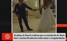 Korina Rivadeneira: alcaldesa de Huaral confirmó irregularidades en boda con Mario Hart