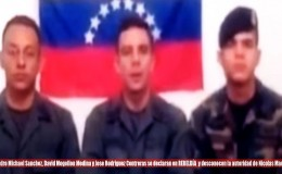Venezuela: difunden video de militares pidiendo refugio en Colombia