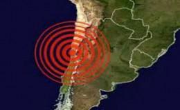 Chile: dos sismos de magnitud 6 y 5,8 sacudieron hoy el centro del país
