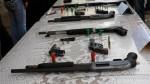 Fuerza Aérea sobre armas halladas a sicarios: Se reportó sobre desaparición - Noticias de armamento