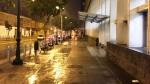 Lima amaneció con calles mojadas tras intensa garúa - Noticias de patricio valderrama