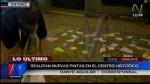 Cusco: turista francés realizó pintas en Centro Histórico - Noticias de