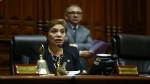 Salgado cuestionó a legisladores que presentaron acción ante el TC - Noticias de