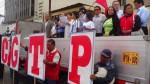 Día del Trabajador: CGTP realiza mitin en la plaza Dos de Mayo - Noticias de plaza castilla