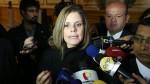 Mercedes Aráoz rechazó reglajes y pugnas en el Ejecutivo - Noticias de jorge gonzales