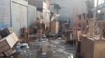 Independencia: incendio consumió puestos de mercado de Naranjal - Noticias de lewis mejia