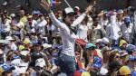 """Venezuela: mujeres protestaron contra """"represión"""" y """"por la paz"""" - Noticias de corina machado"""