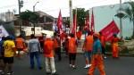 Iquitos: obreros de construcción civil protestan por falta de pago - Noticias de escolaridad