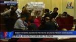Alberto Fujimori: simpatizantes irrumpen en el Congreso para exigir su libertad - Noticias de alejandra aramayo