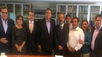 Alan García retornó al Perú y sostuvo encuentro con dirigentes del Apra - Noticias de alberto castillo