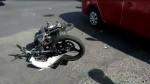 Arequipa: motociclista quedó herido de gravedad tras impactar contra un taxi - Noticias de accidentes vehicular