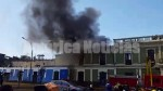 Centro de Lima: incendio consume antigua casona en la avenida Tacna - Noticias de santo convento