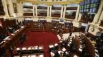 Comisiones investigadoras del Congreso podrán tener hasta 9 miembros - Noticias de grillete electr��nico