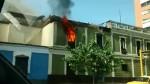 Declaran inhabitable casona de avenida Tacna tras incendio - Noticias de santo convento