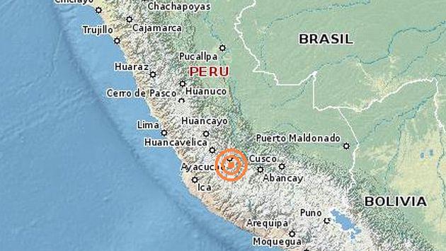 Un sismo de 5.0 grados remeció Ayacucho