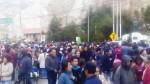 La Oroya: cientos marcharon por la reactivación del complejo metalúrgico - Noticias de liquidación de doe run