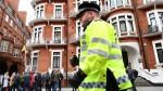 Assange: Policía británica dice que detendrá lo si sale de la embajada - Noticias de julian assange