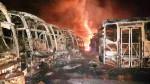 Venezuela: incendian decenas de buses, gobierno y oposición se culpan - Noticias de francisco