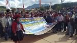 Chinchero: anuncian paro ante cancelación de construcción de aeropuerto - Noticias de ositran