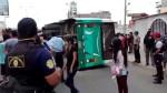Trujillo: aumenta a 14 el número de heridos en despiste y volcadura vehicular - Noticias de la libertad