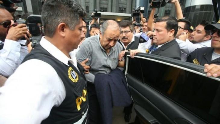 Caso Odebrecht: dictan 18 meses de prisión preventiva contra Jorge Acurio