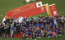 Barcelona se proclamó campeón de la Copa del Rey tras vencer 3-1 a Alavés