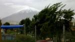 Arequipa: al menos 10 viviendas resultaron afectadas por fuertes vientos - Noticias de mariano melgar hora