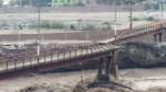 Chosica: pobladores exigen reconstrucción de puente peatonal - Noticias de municipalidad de chosica