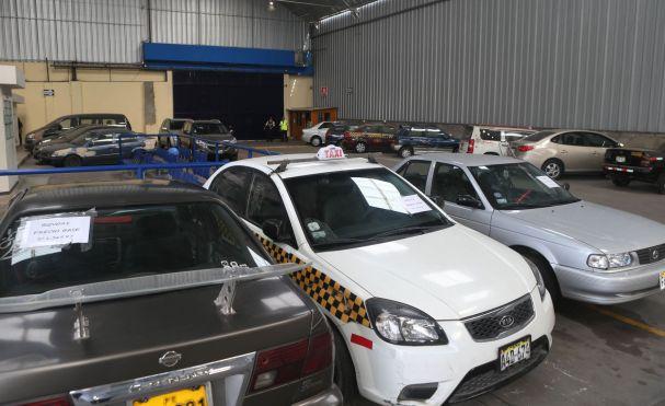 SAT rematará vehículos desde 117 soles como precio base